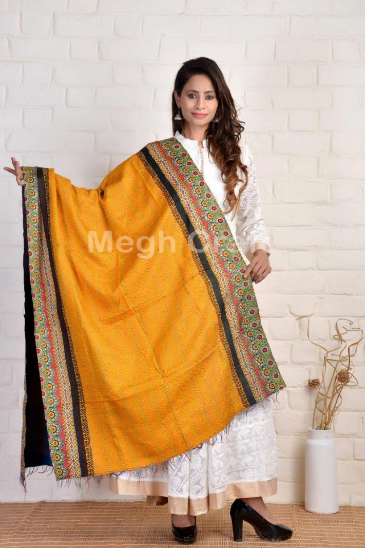 Indian Traditional Kantha Dupatta