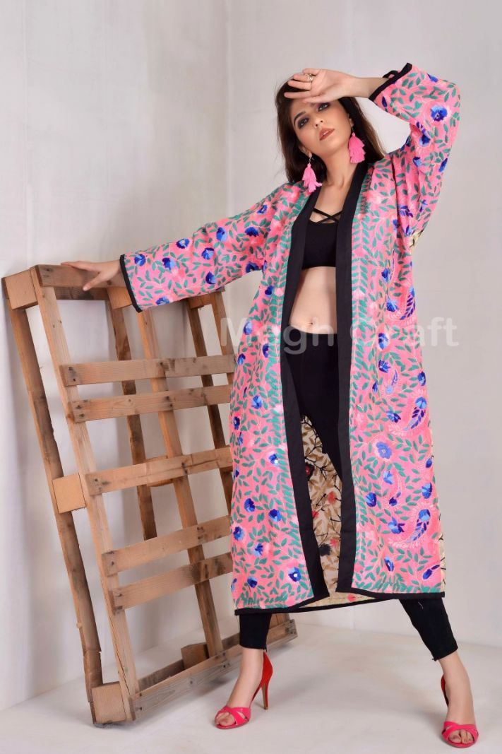 Silk Kimono Body Cover Up