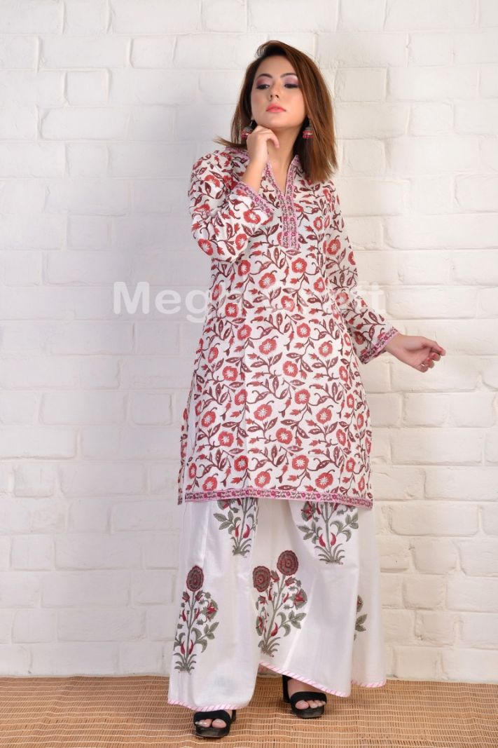 2020 Paisley Cotton short Kurti