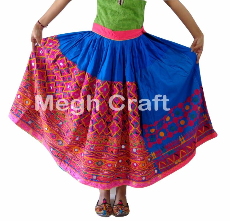 Gujarati kutch embroidery Skirt