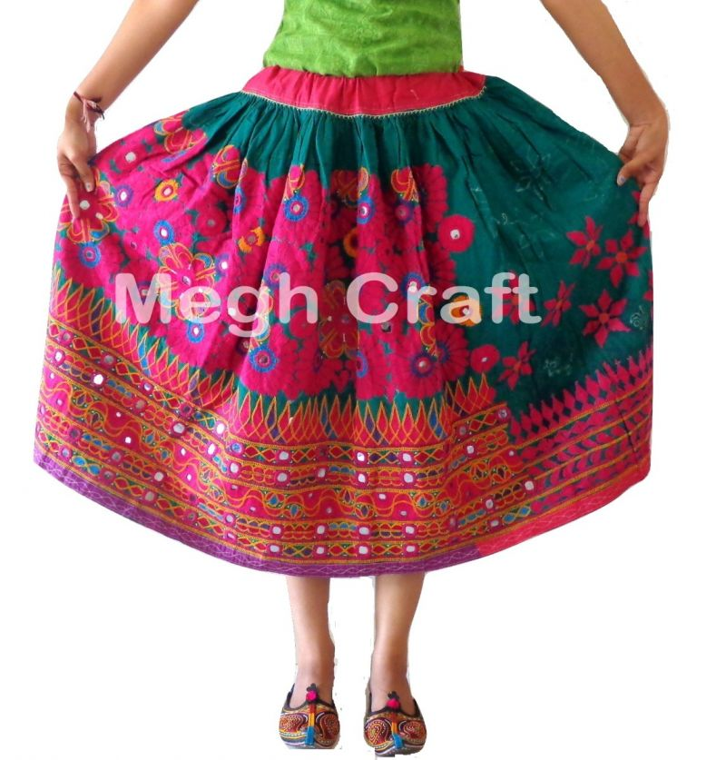 Boho Indian handWork skirt