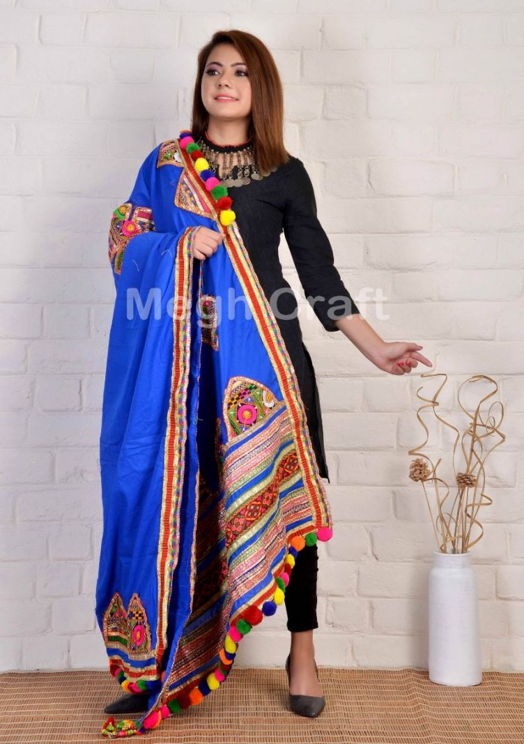 Kutch Traditional Embroidery Dupatta
