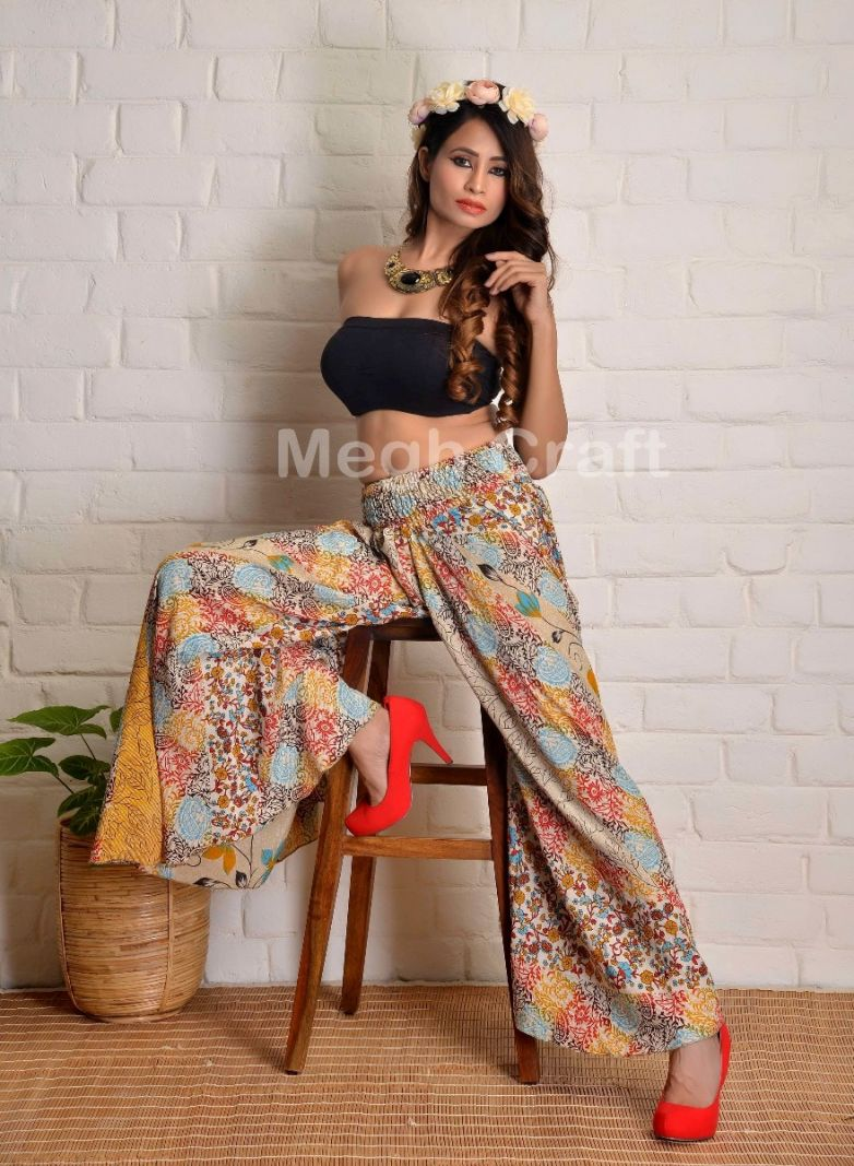 Floral Dance Wear Palazzo