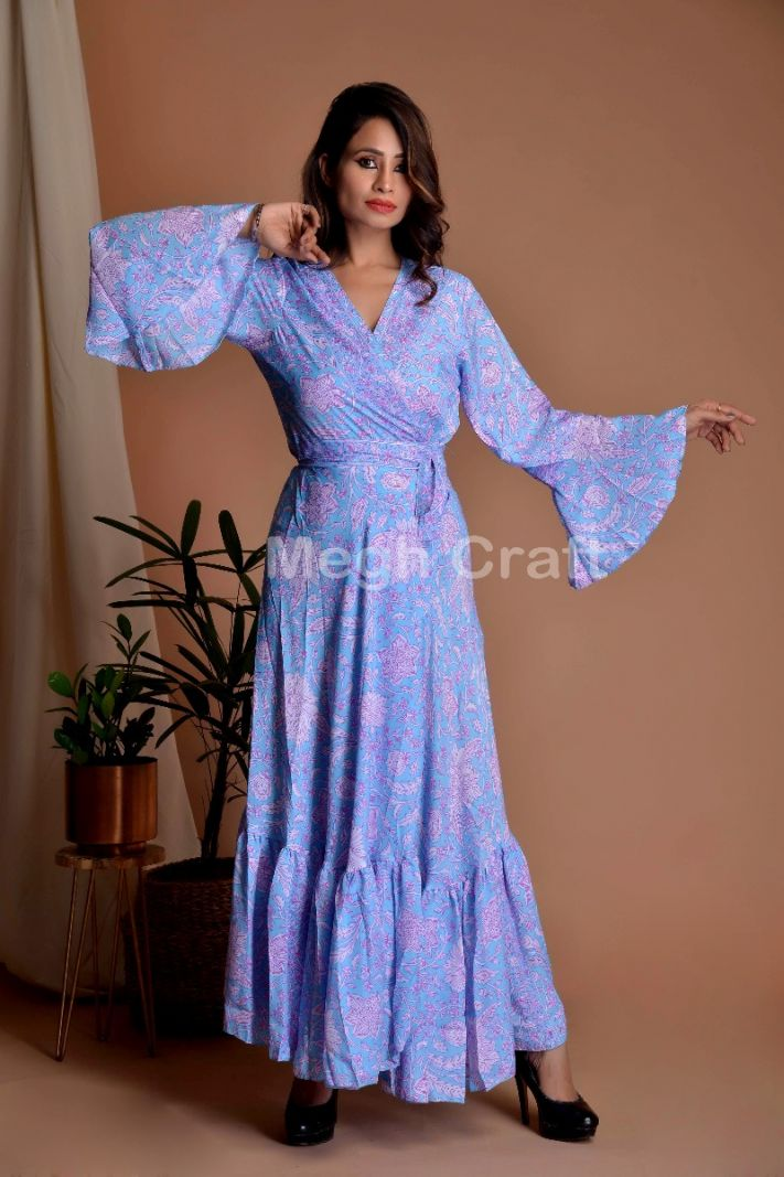 Girls Beach Wear Robe Dress