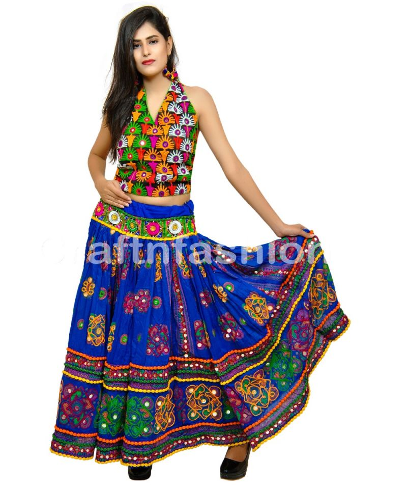 Boho Style Embroidery Skirt (ONLY SKIRT)