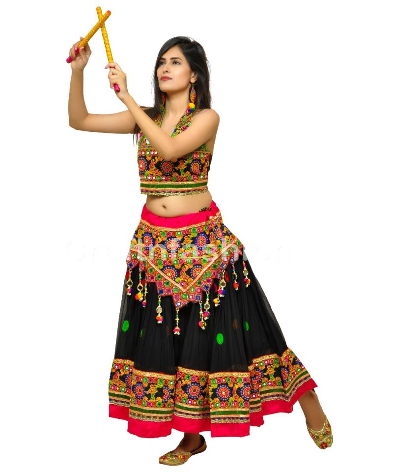 Kutch Embroidery Style Skirt (ONLY SKIRT)