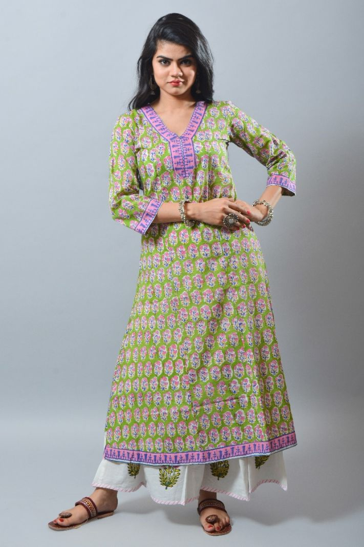 Paisley eco-friendly cotton tunics