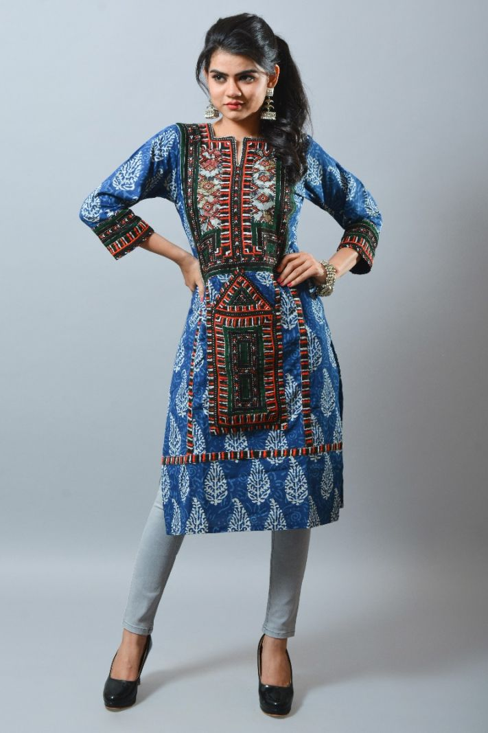 Cotton Traditional One Pcs kurti
