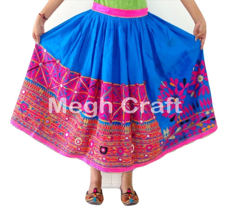 Indian fastival wear embroidery skirt