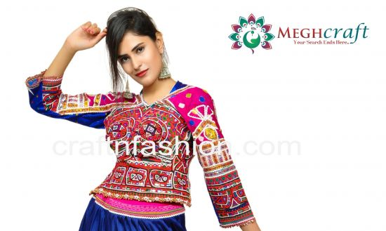Bohemian Traditional Backless Blouse
