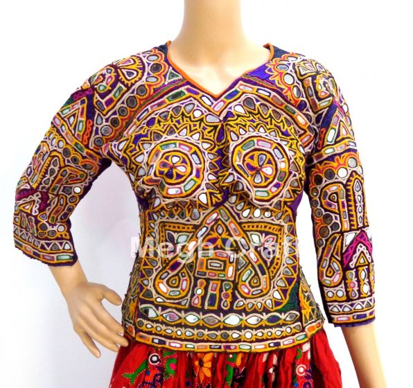 Exclusive Mirror Work Blouse