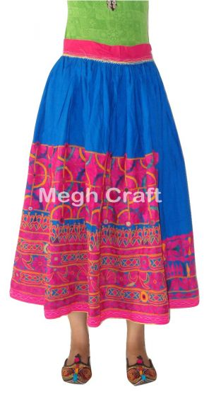 2020 Megh Craft Mirror Work Skirt