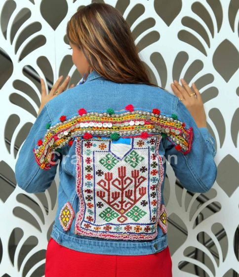 Winter Wear Boho Tribal Jacket