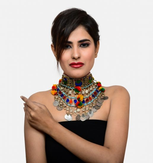 Afghan Choker Necklace