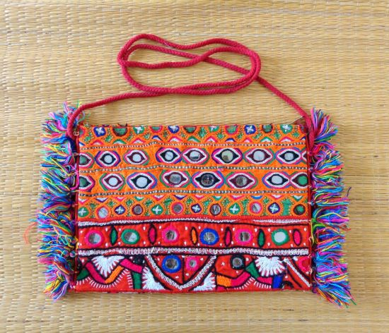 Nomad Embroidery Coin Purse
