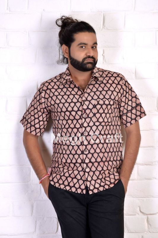 Block Printed Fashion Shirt