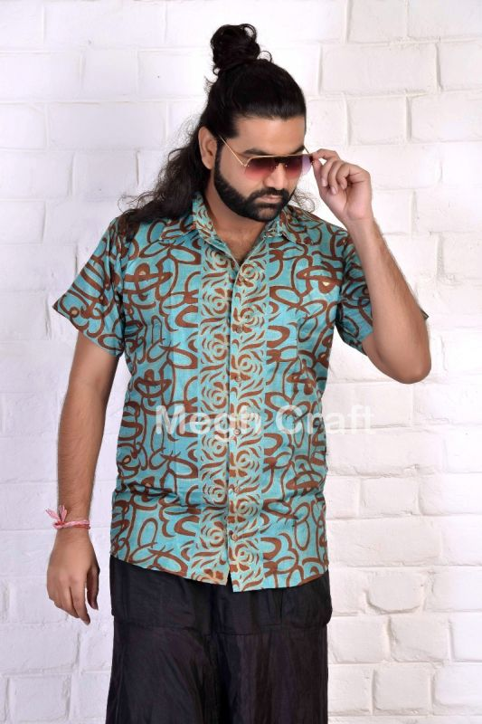Beach Fashion Wear Men's Shirt