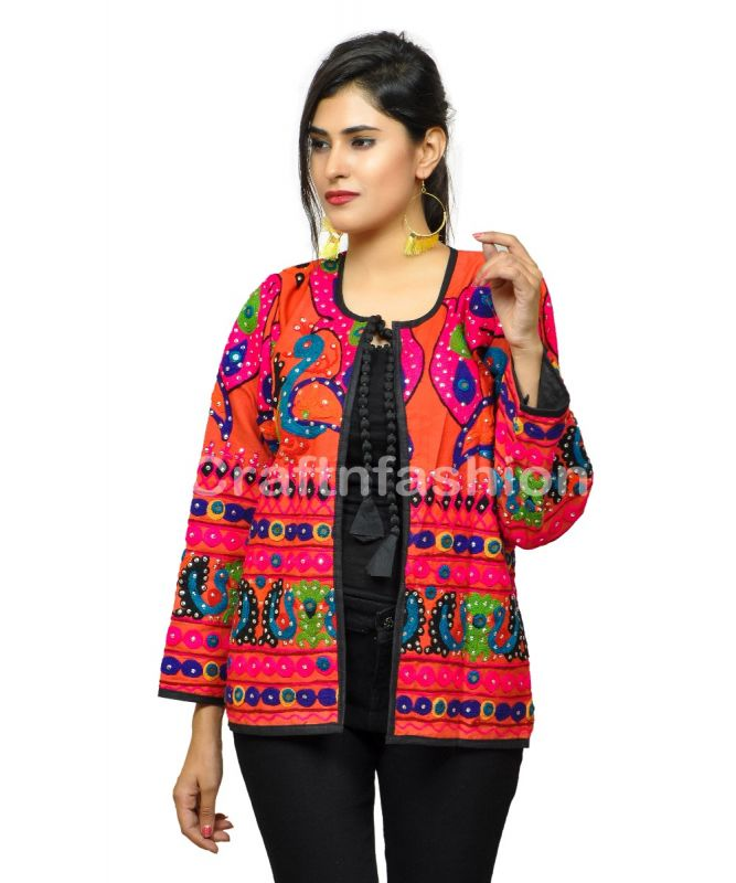 Boho Gypsy  Banjara Sequin Jacket