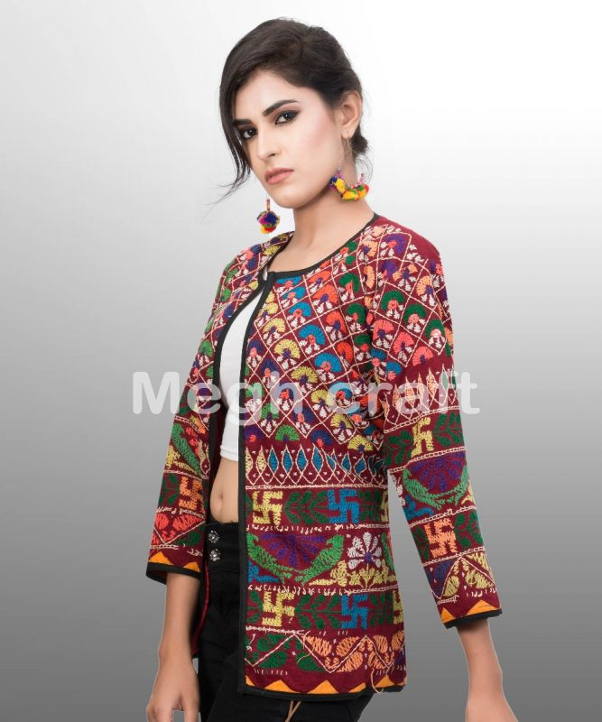 Indian Embroidery Banjara Jacket