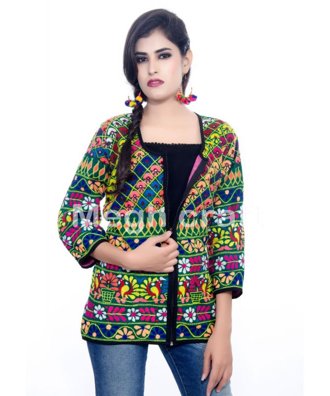 Hand Embroidered Kutch Jacket