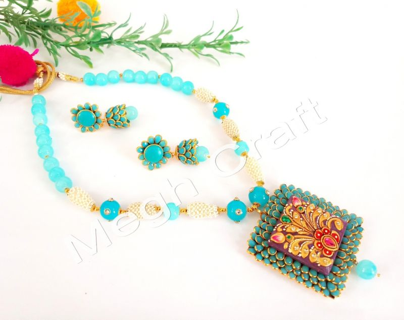 Exclusive Tanjore Goddess Necklace