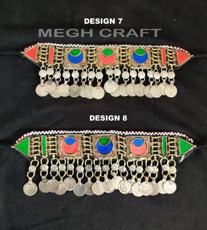 Boho Multicolor Stone Afghan Necklace