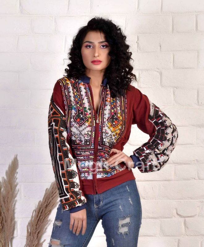 Vintage Balochi Embroidery Jacket
