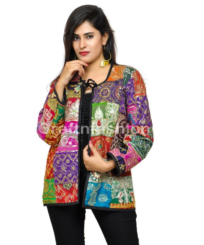 Bohemian Summer Fashion Patchwork Coat