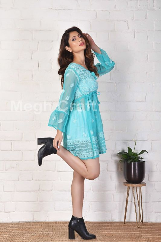 2021 Traditional Embroidery Tunic Top