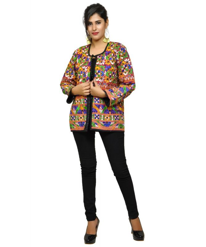 Boho Gypsy Sequin Banjara Jacket
