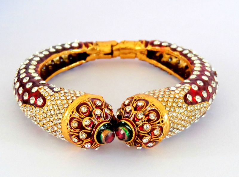 Exclusive Meena Enameled Bracelet