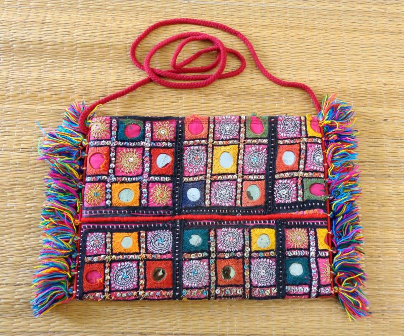 Vintage Embroidery Coin Purse