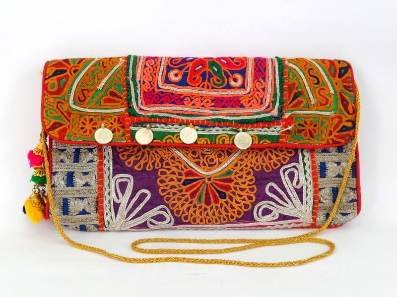 Vintage Patch Work Clutches