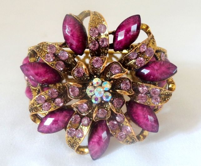 Stone Fashion Bracelet -Purple
