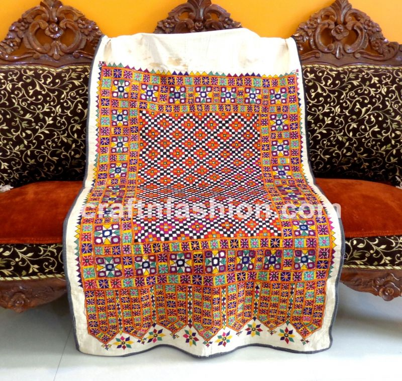 Exclusive Kutch Hand Embroidery Tapestry