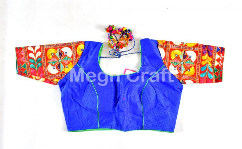 Blue Gamthi Traditional Blouse