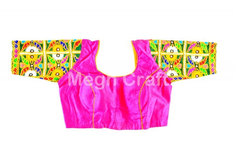 Kutch Embroidered Sleeve Blouse