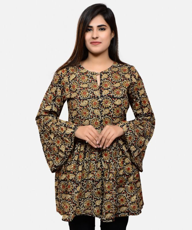 Summer Fashion Kalamkari Top