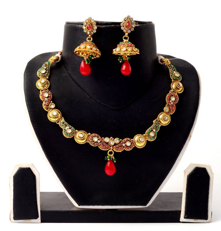 Traditional Wear Ethnic Necklace Set