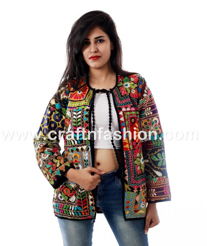 Summer Fashion Patchwork  Jacket