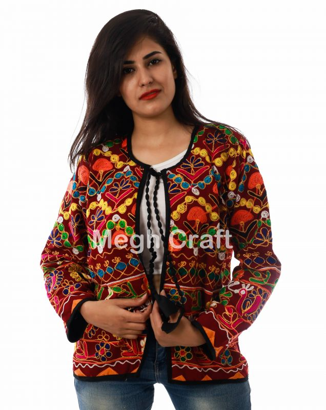 Traditional Boho Waist Jacket