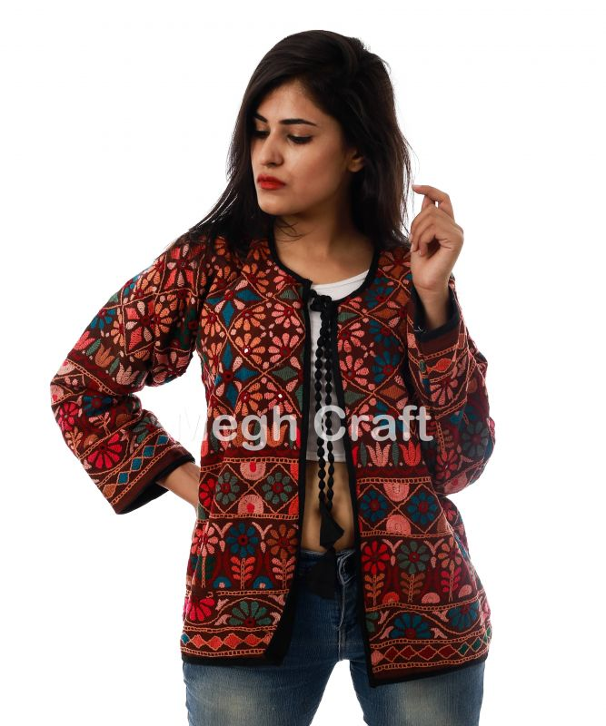 Multicolor Boho Jacket Coat