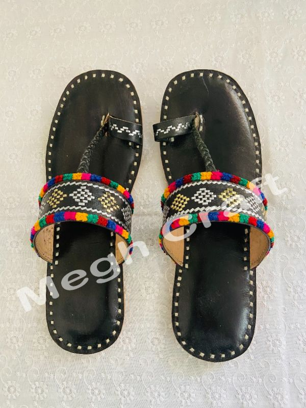 Latest ladies embroidered flats