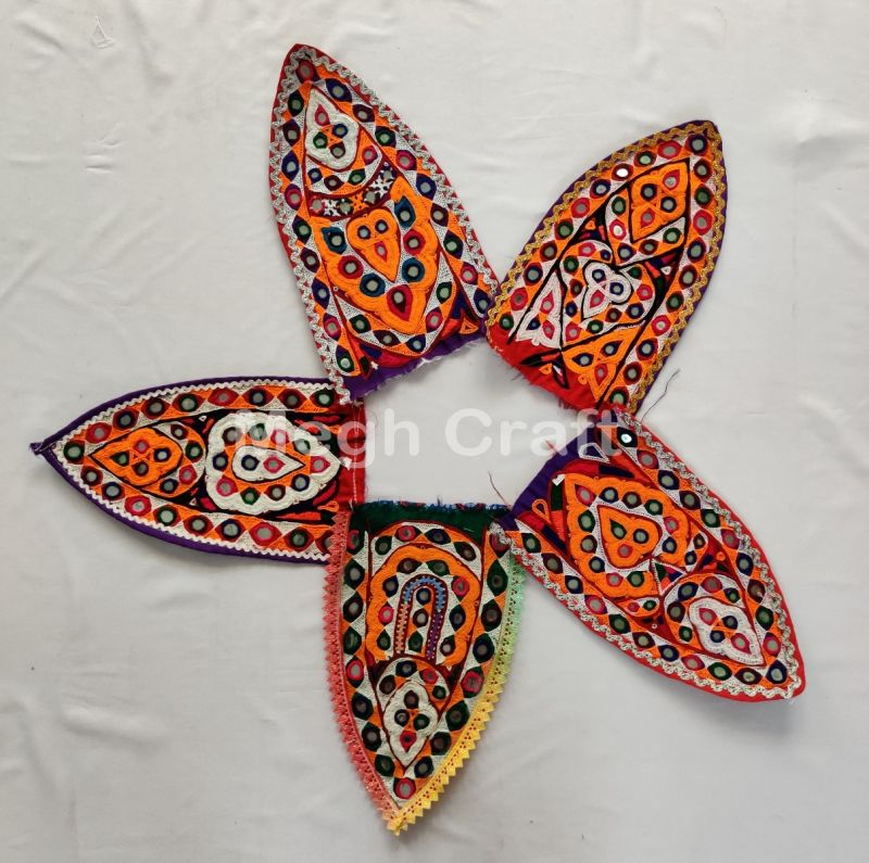 5 Pcs Of Designer Embroidery Patches