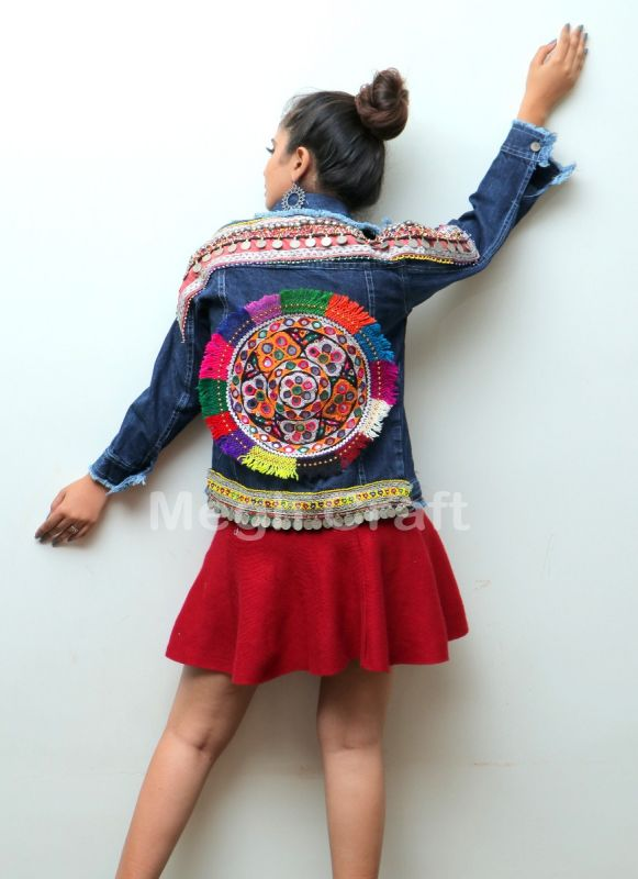 Boho Fashion Denim Jacket
