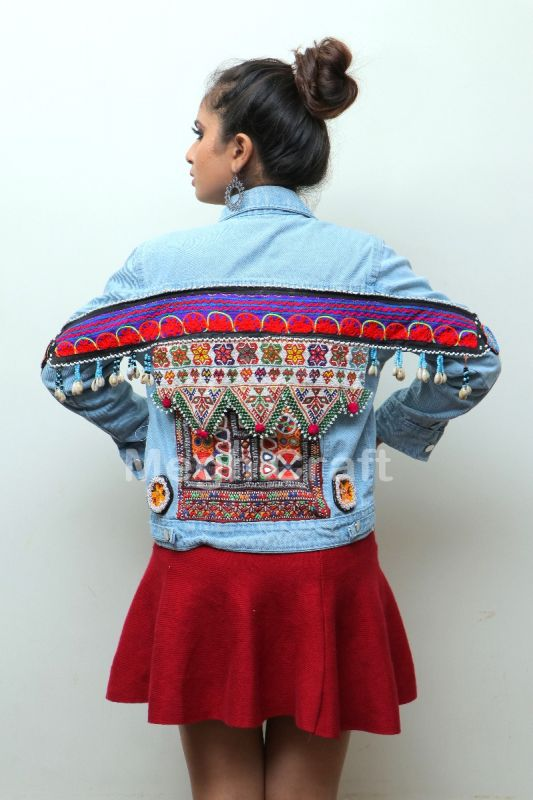 Exclusive  Boho Denim Jacket