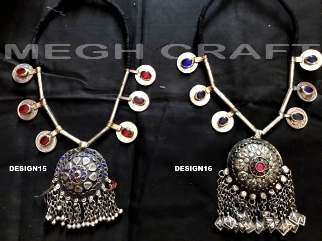 Navrati Special Afghan Stone Necklace