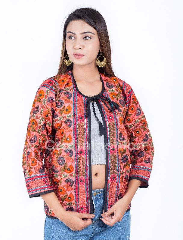 Vintage Embroidery Dye Jacket