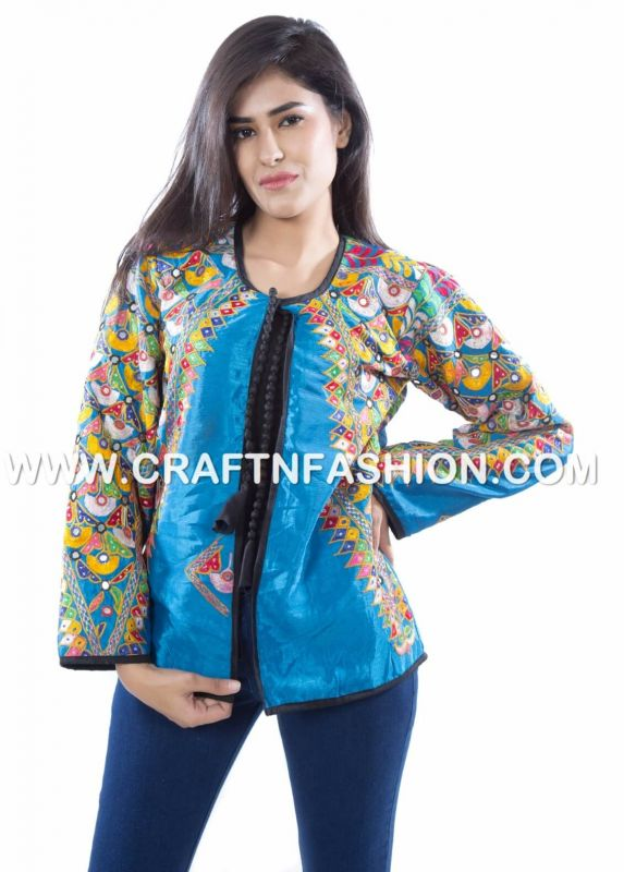 Mirror Work Boho Jacket