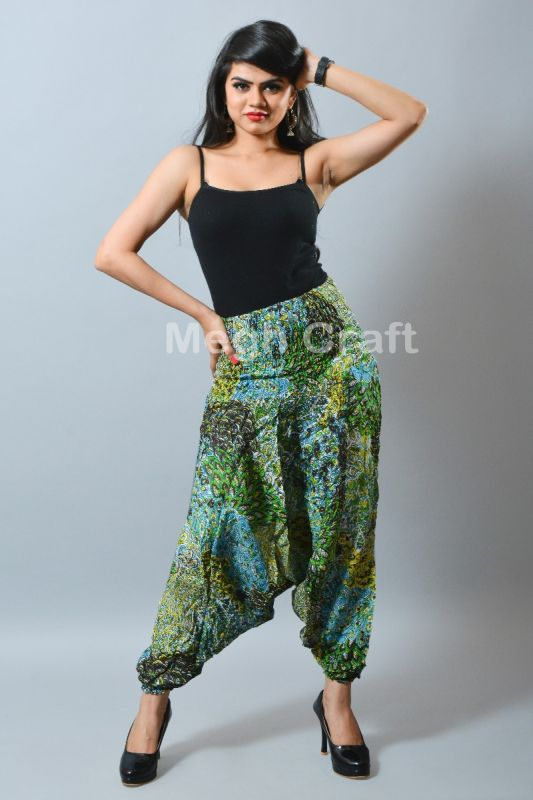 Ladies Harem Pant Trouser